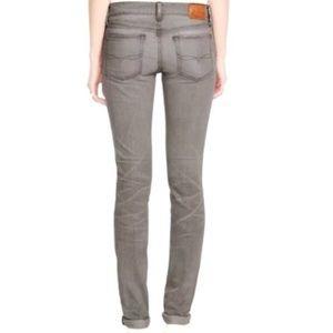 Ralph Lauren Tompkins Skinny Jeans Sz 28 Gray EUC